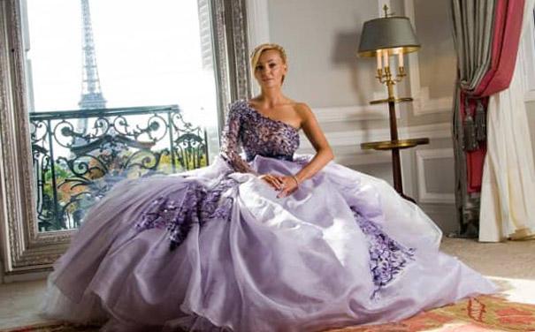 Свадебные платья на одно плечо 2017