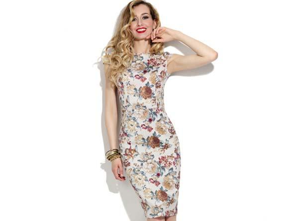 платье-футляр 2017