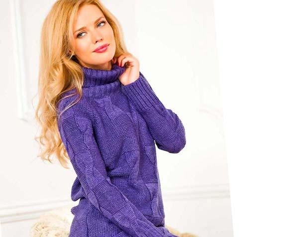 фиолетового цвета
