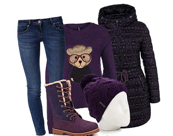 фиолетовые вещи