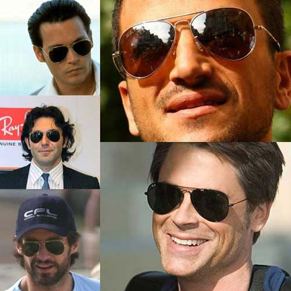 Мужские солнцезащитные очки 2019 брендовые  фото модные от Рэй Бан c08829332626b