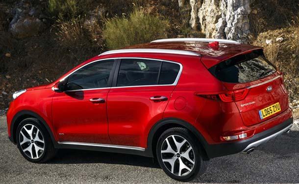 новый кузов Kia Sportage 2018