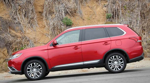 new mitsubishi outlander 2019