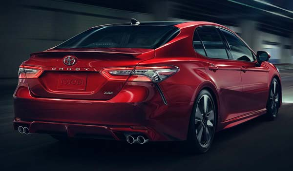 new toyota camry 2020